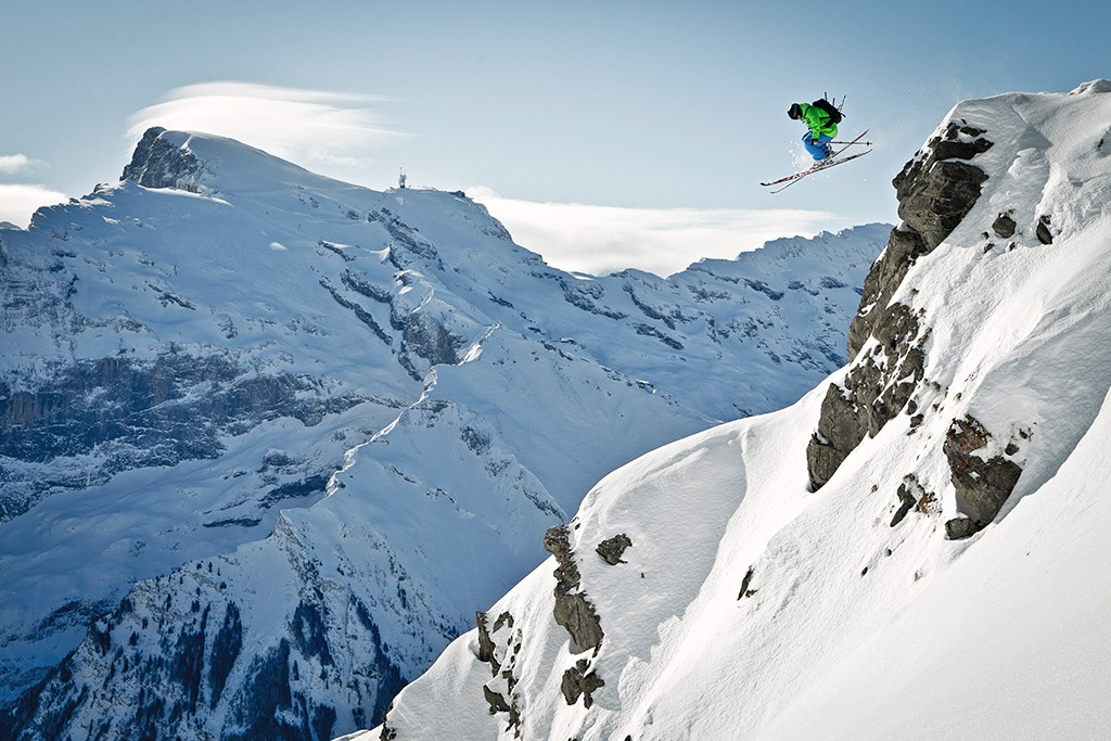 Freeride Engelberg Schweiz