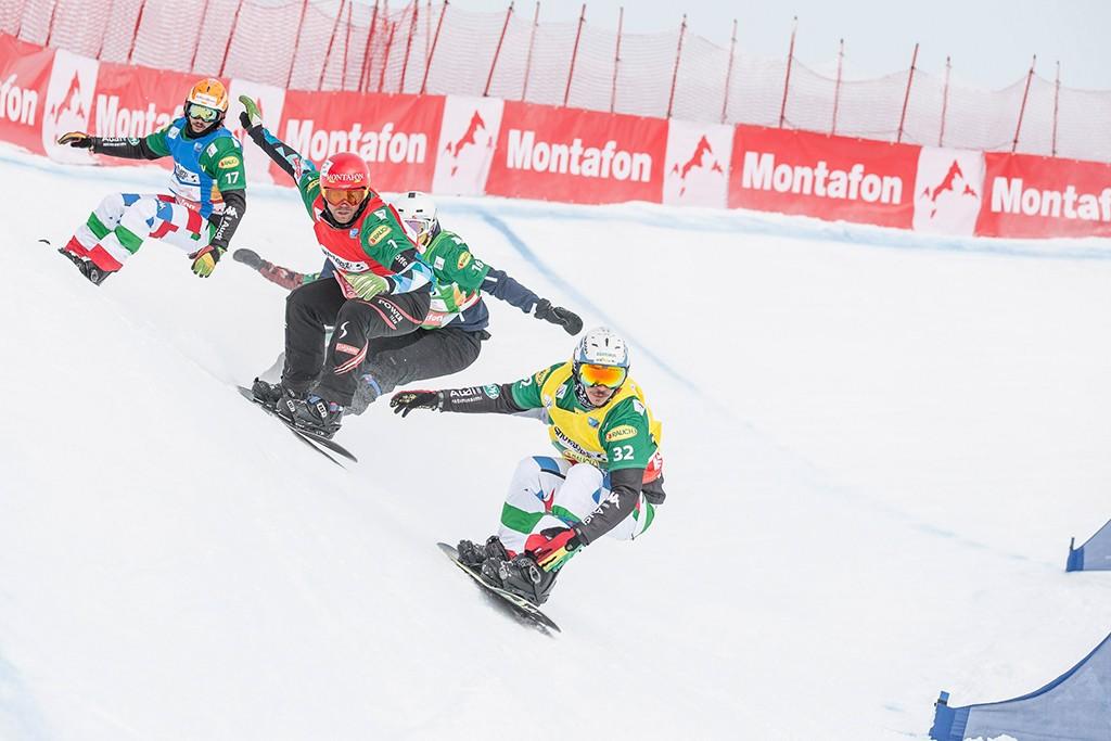Boardercross Weltcup Silvretta Montafon