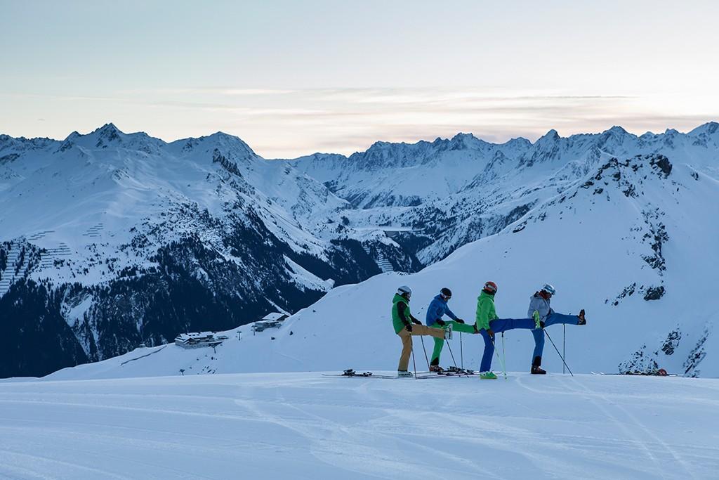 Montafon Silvretta Skigebiet