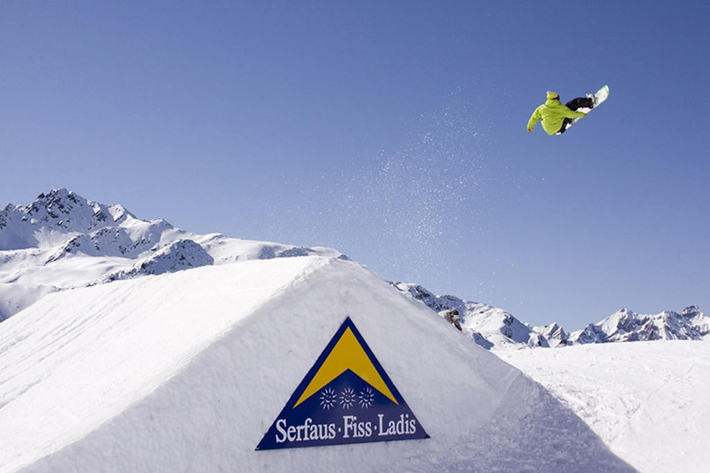 Skipark Serfaus Fiss Ladis